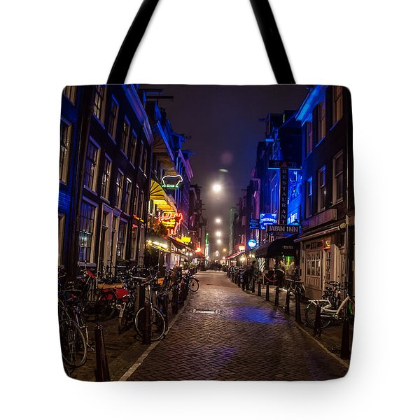 Late Nights Tote Bag