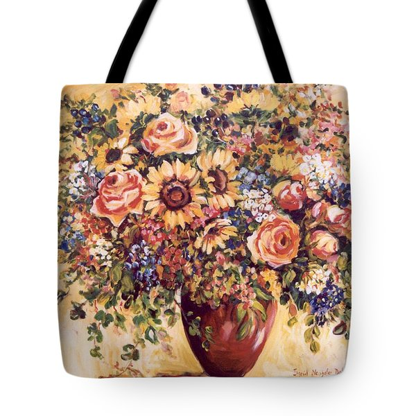 Late Summer Bouquet Tote Bag