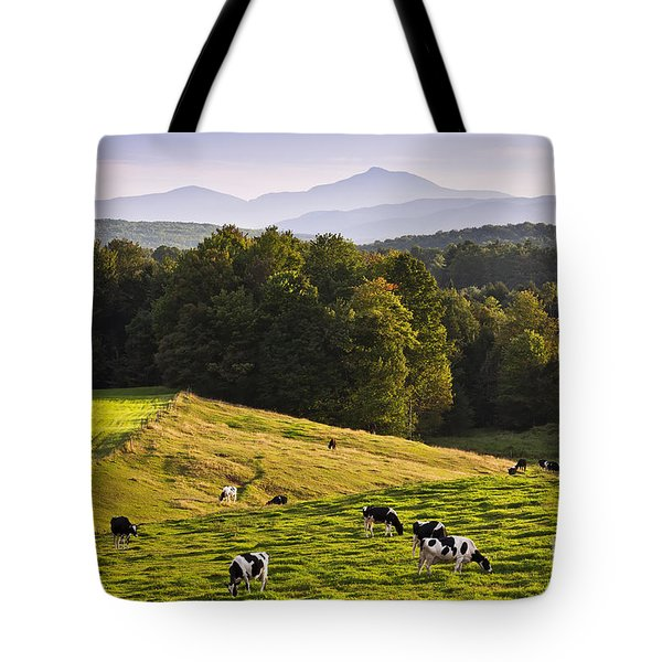 Late Summer Countryside Tote Bag by Alan L Graham