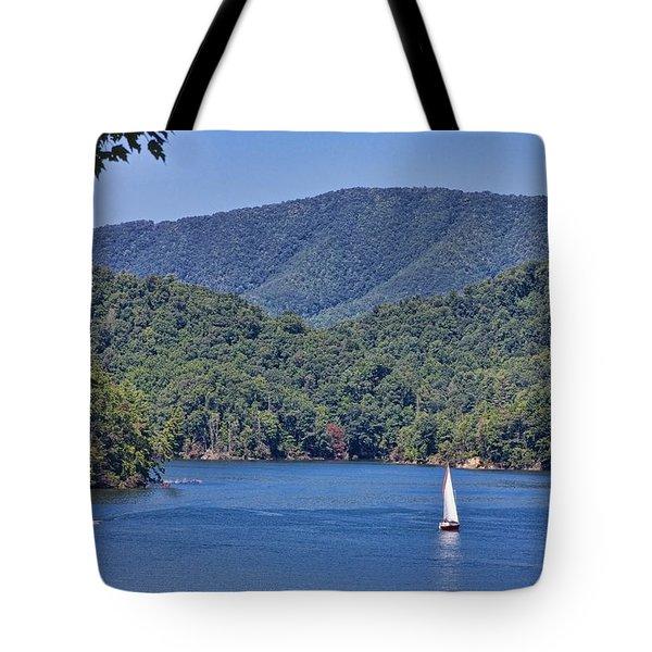 Late Summer Cruising  Tote Bag