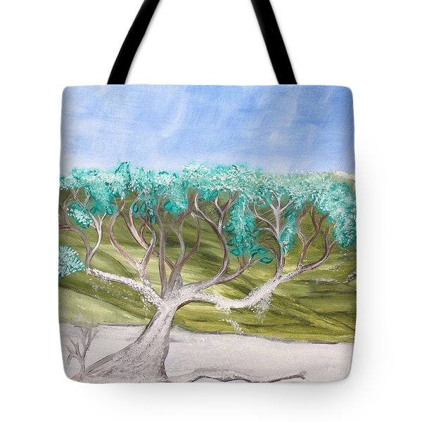 Late Winter Frost Tote Bag