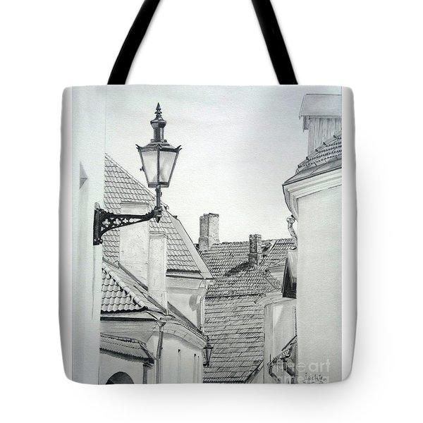 Latern Tote Bag