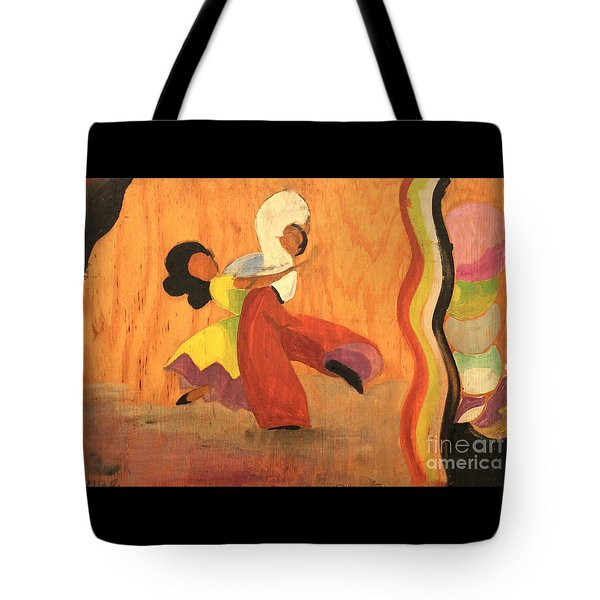 Latin Dancers 1938 Tote Bag