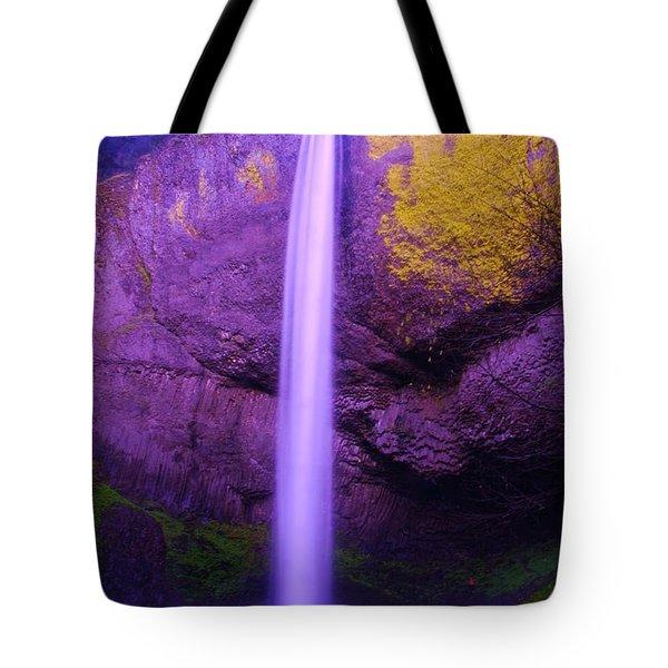 Latourall Falls Tote Bag by Jeff Swan