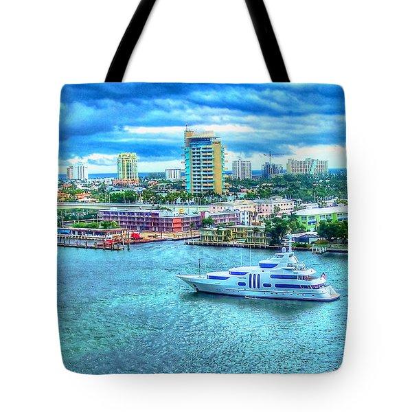 Lauderdale Tote Bag by Debbi Granruth