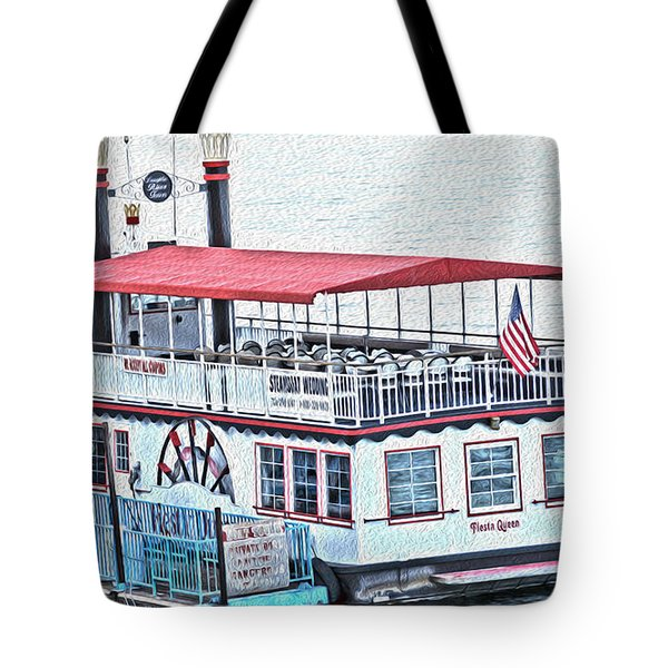 Laughlin Riverboat Tote Bag