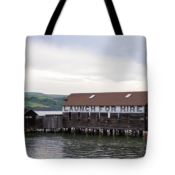 Launch For Hire Tote Bag