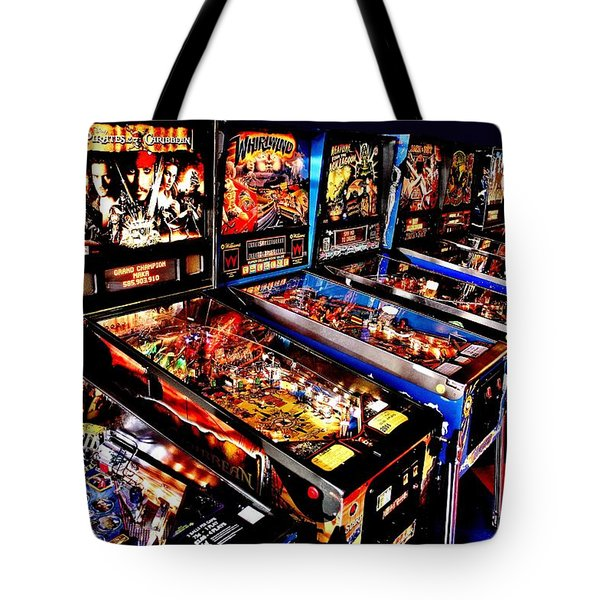 Launchers Lacking Tote Bag by Benjamin Yeager