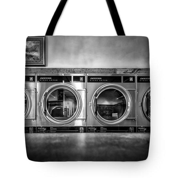 Laundromat Art Tote Bag by Bob Orsillo
