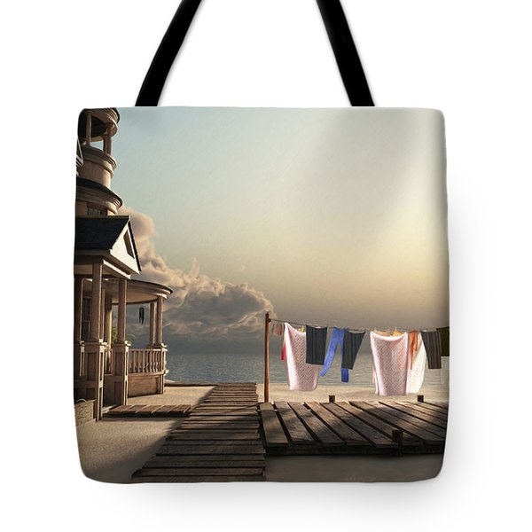 Laundry Day Tote Bag