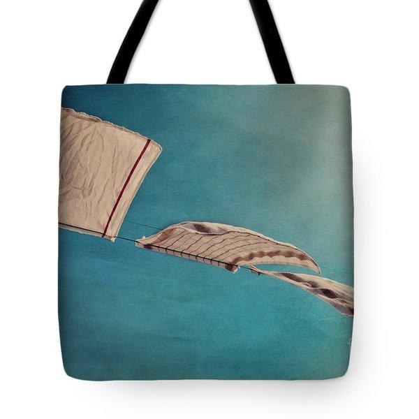 Laundry Day Tote Bag by Priska Wettstein