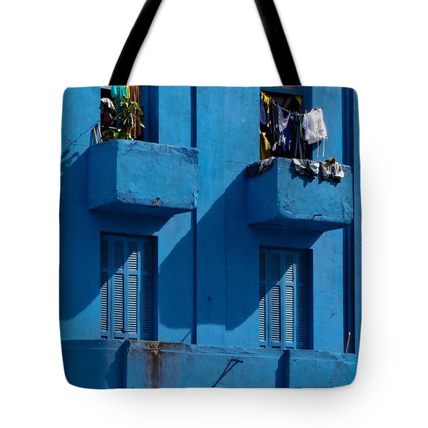 Laundry - Sao Paulo Tote Bag by Julie Niemela