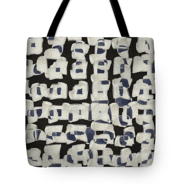 Laura Series Making Marks 545b2 Tote Bag by Carol Leigh