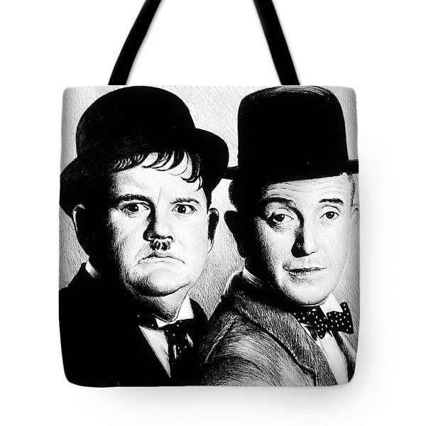 Laurel And Hardy Another Fine Mess Tote Bag