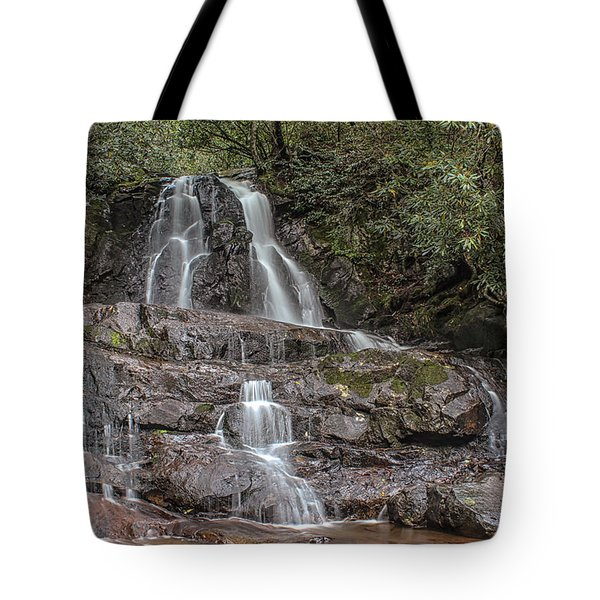 Laurel Falls - Great Smoky Mountains National Park Tote Bag