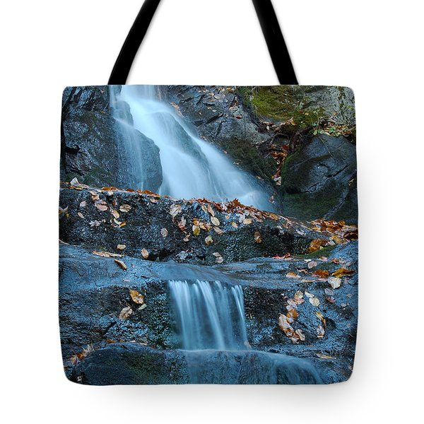 Tote Bag featuring the photograph Laurel Falls by Patrick Shupert