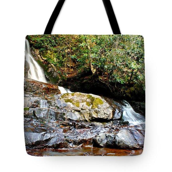Laurel Falls Tennessee Tote Bag