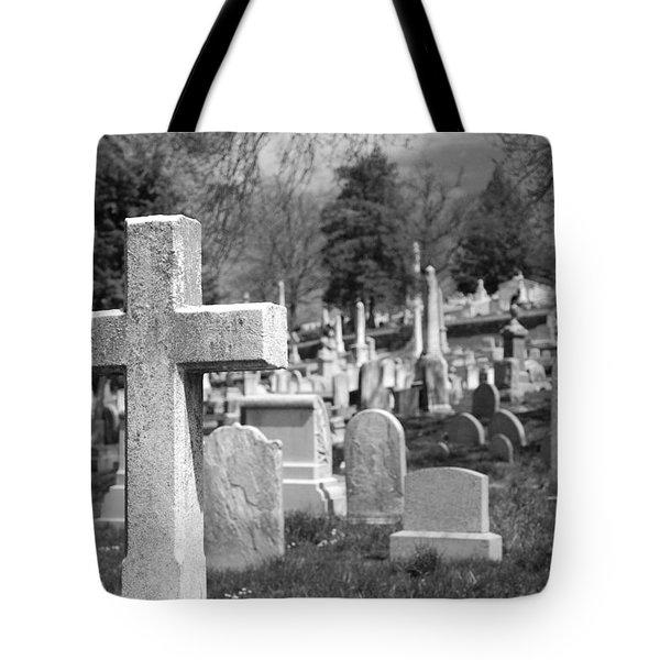 Laurel Hill Tote Bag by Jennifer Ancker