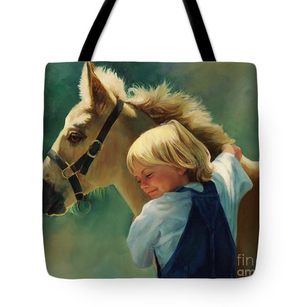 Lauren's Pony Tote Bag