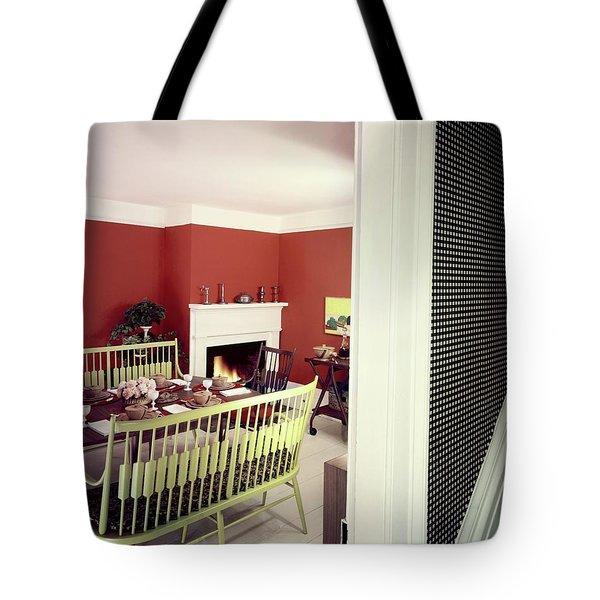 Laurens W. Macfarland's Dining Room Tote Bag