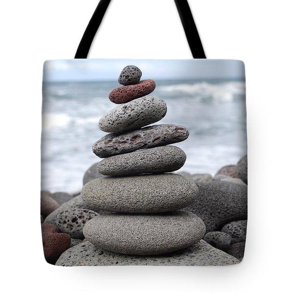 Lava Cairn Tote Bag