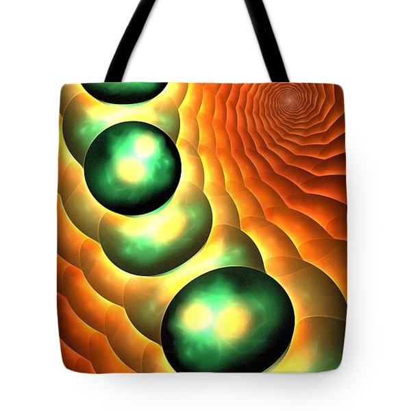 Lava Land Tote Bag by Anastasiya Malakhova