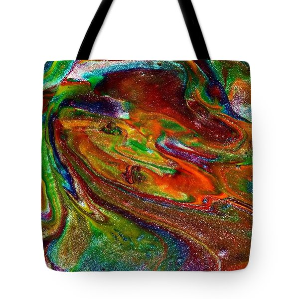 As The World Turns Tote Bag