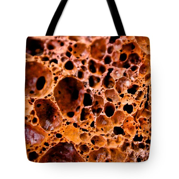 Lava Rock Tote Bag