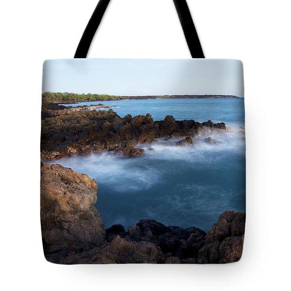 Lava Rock Shore Tote Bag by Jenna Szerlag