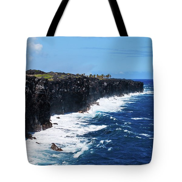 Lava Shore Tote Bag