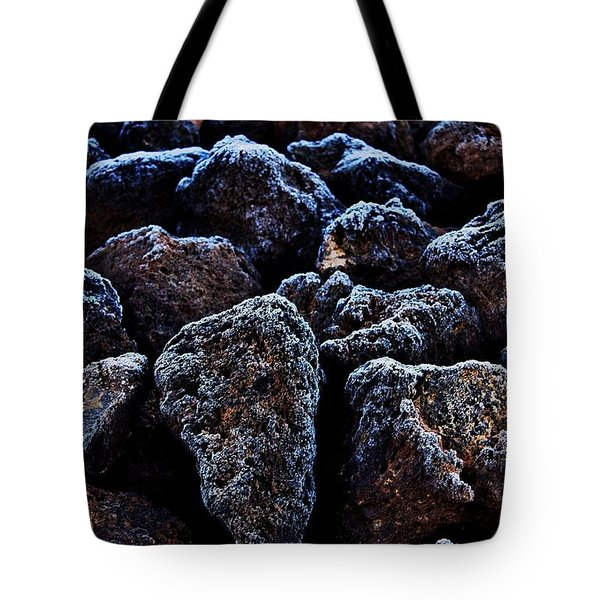 Lavafrost Tote Bag by Benjamin Yeager