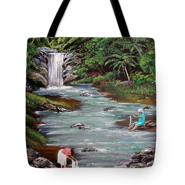Lavando Ropa Tote Bag