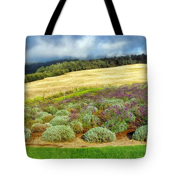 Lavendar 5 Tote Bag by Dawn Eshelman