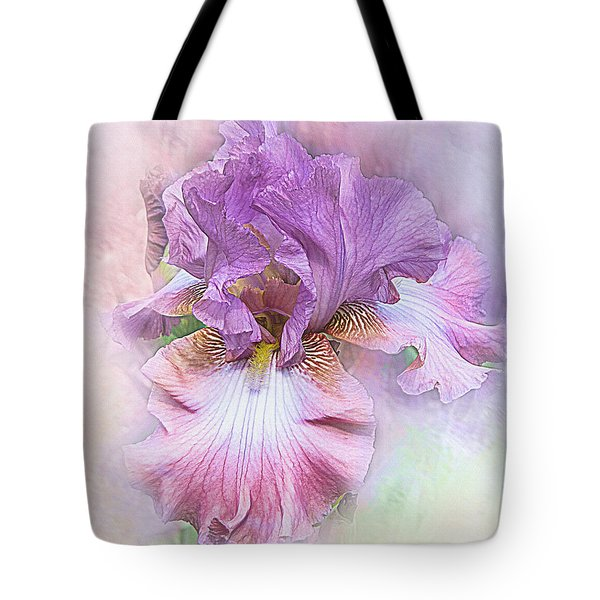 Tote Bag featuring the digital art Lavendar Dreams by Mary Almond