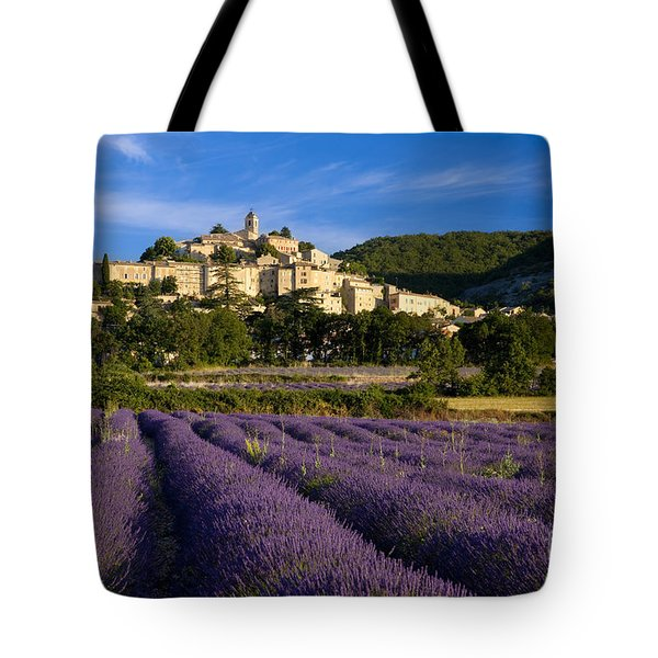 Lavender And Banon Tote Bag by Brian Jannsen