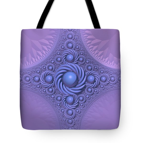 Lavender Beauty Tote Bag