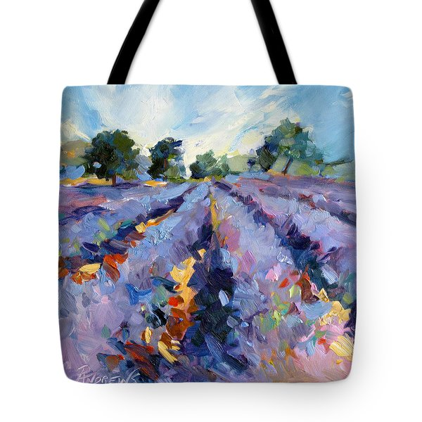Lavender Blues Tote Bag
