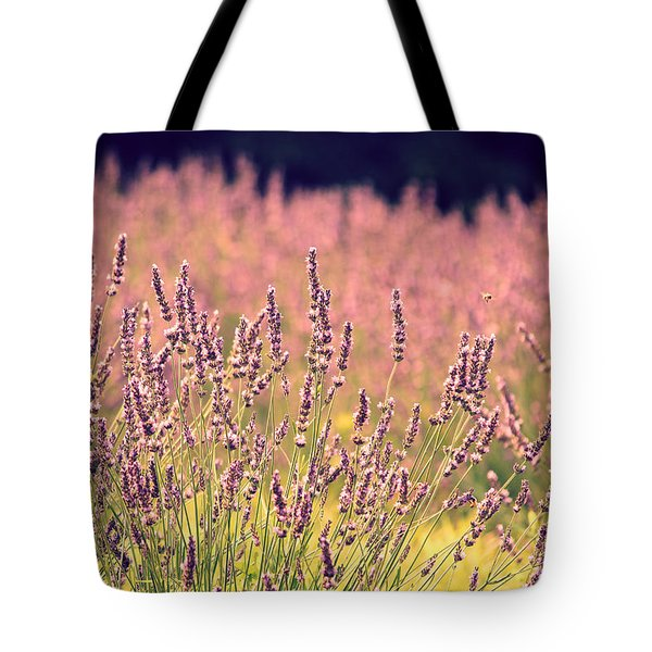 Tote Bag featuring the photograph Lavender Dreams by Lynn Sprowl