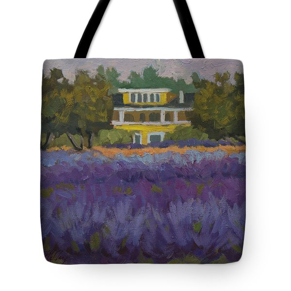 Lavender Farm On Vashon Island Tote Bag