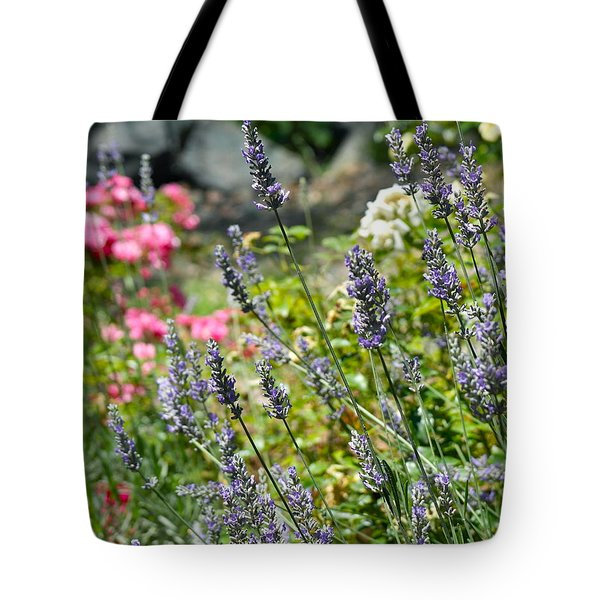 Lavender In Bloom Tote Bag