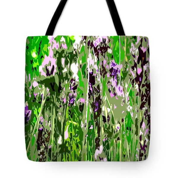 Lavender In Summer Tote Bag by Patrick J Murphy