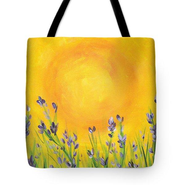 Lavender In The Air Tote Bag