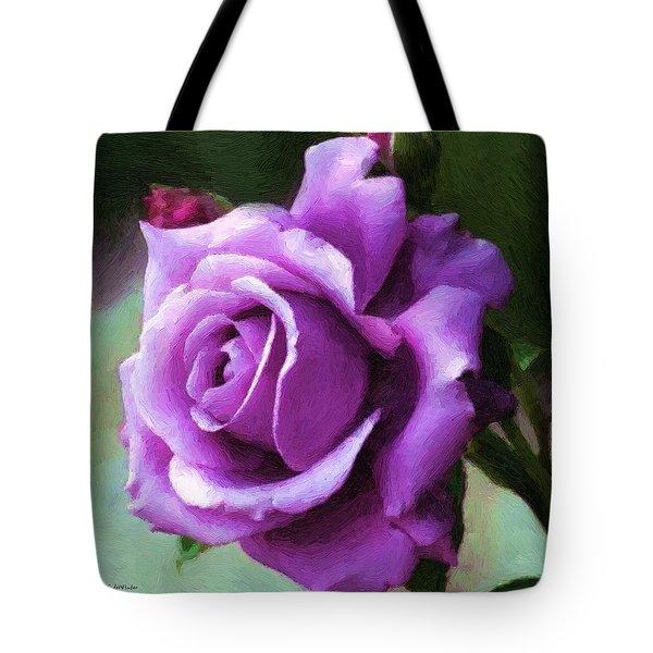 Lavender Lady Tote Bag