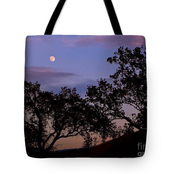 Lavender Moon Twilight Tote Bag