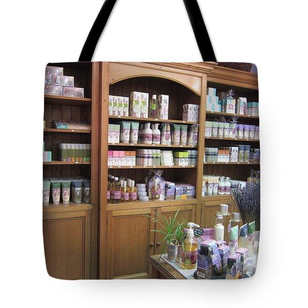 Lavender Museum Shop 1 Tote Bag by Pema Hou