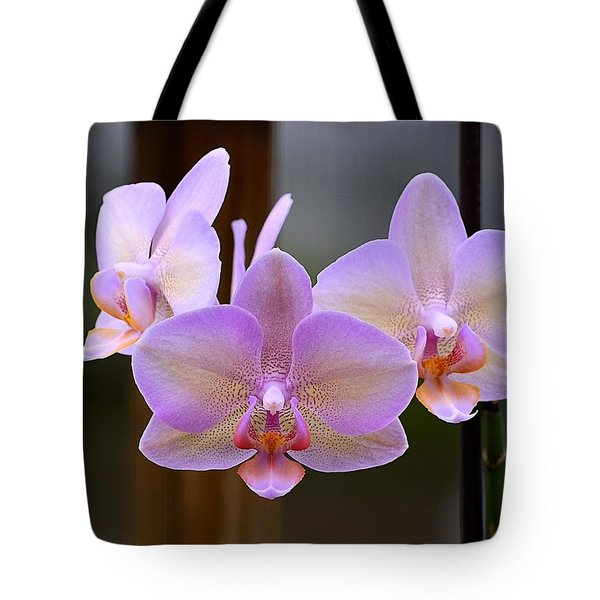 Lavender Orchid Tote Bag