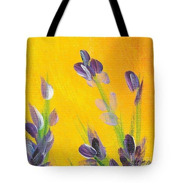 Lavender - Hanging Position 2 Tote Bag