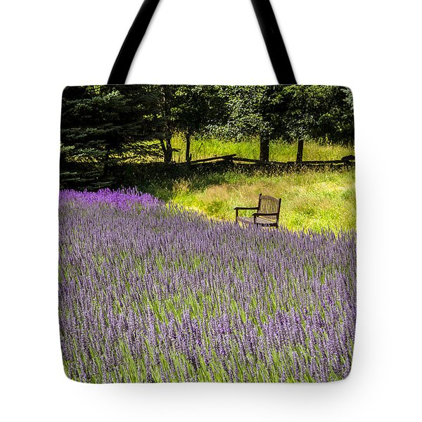 Lavender Rest Tote Bag