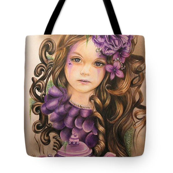 Lavender  Tote Bag by Sheena Pike