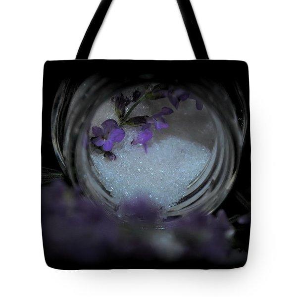 Tote Bag featuring the photograph Lavender Sugar by Marija Djedovic